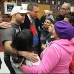 Governor Greets Displaced Residents